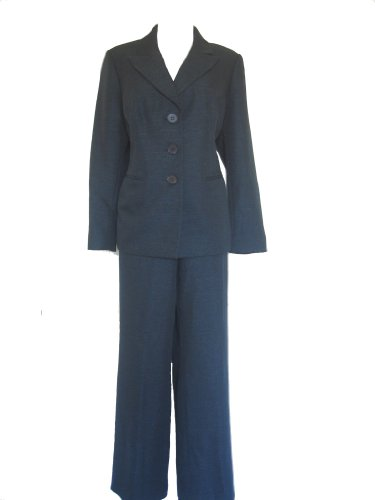 EVAN PICONE Dark Green Women's Jacket/Pants Suit