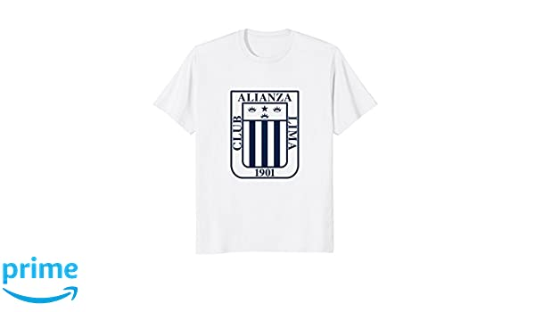 Amazon.com: Club Alianza Lima 1901 Peru Camiseta TShirt Jersey Futbol: Clothing