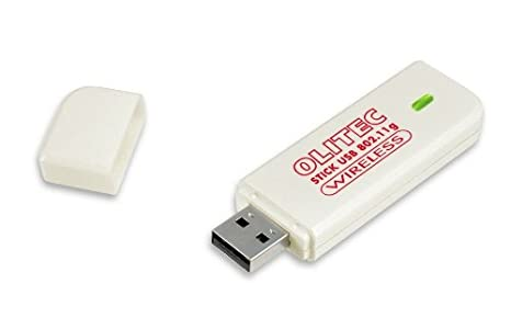 pilote olitec stick usb 802.11g wireless