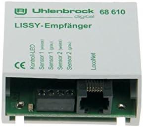 Uhlenbrock 68610 LISSY Infrarot-Empf/änger LocoNet Lissy