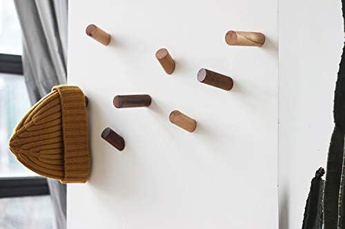 stabile 40 x 40 x 180 cm con 10 ganci Attaccapanni moderno in legno TinyTimes