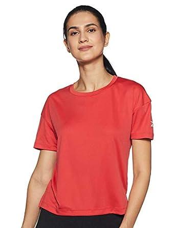 Reebok Women's Regular Fit Sports T-Shirt