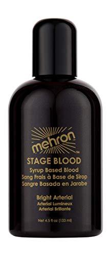 Mehron Makeup Stage Blood (4.5 oz) (Bright Arterial)