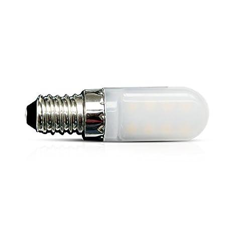 Vision-EL 77939 bombilla nevera Blister 3000 ° K, aluminio/PC, E14 ...