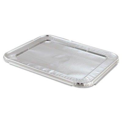 hfa204900蒸気テーブルパンFoil Lid , Fits half-sizeパン、12 13 / 16 x 10 7 / 16 B00V9LXRI6