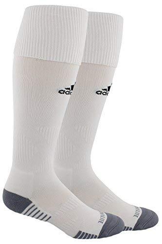 - Adidas Copa Cushion III Over The Calf Soccer Socks (Small), White / White