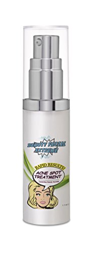Acne Serum Spot Treatment - Quickly Fights Acne Causing Bacteria on Spot to Treat Acne Breakouts, Pimples, Whiteheads & Blackheads.Dissolves Away Pore Clogging Oils without Over Drying your Skin.