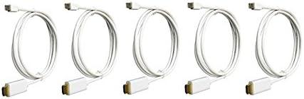 6 feet C/&E Mini/_Dis-HDMI-CB6 Mini DisplayPort to HDMI Adapter Cable