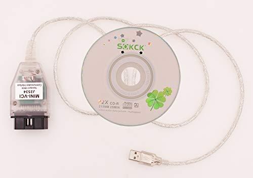 AOSISS V13.00.022 Mini VCI Vehicle Detector for Toyota TIS J2534 Toyota Diagnostic line