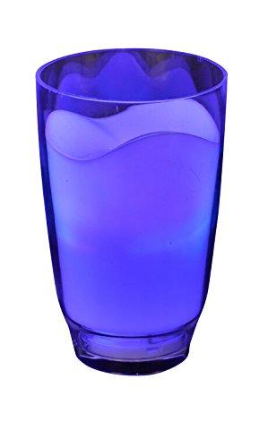 Gw Handels Ug Led Glas Deko Leuchtbecher Milchglas Bunt Mit