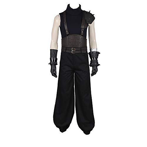 Final Fantasy VII Remake Claude Cosplay Costume Halloween party theme comic exhibition