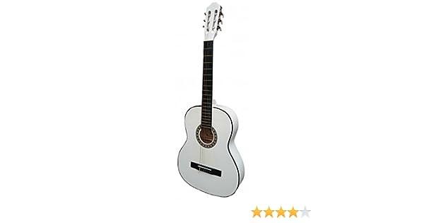 Guitarra clásica Rocio 10 Blanca: Amazon.es: Instrumentos musicales