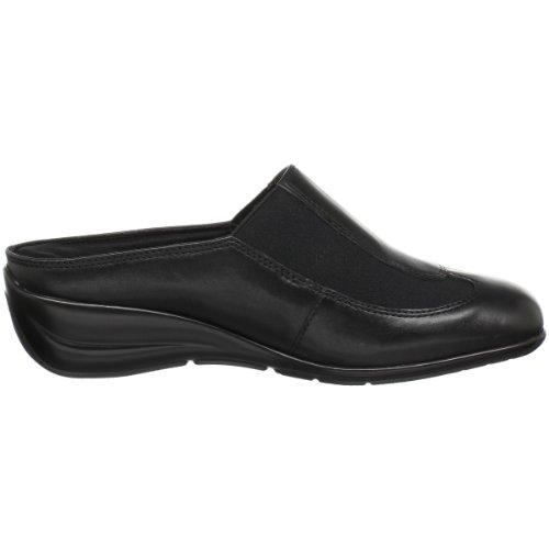 Walking Cradles Womens Jolt Clog Black Leather gZ4b5jBgW