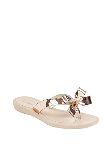Guess Women's TUTU9 Sandal, Gold, 7 M US from Guess