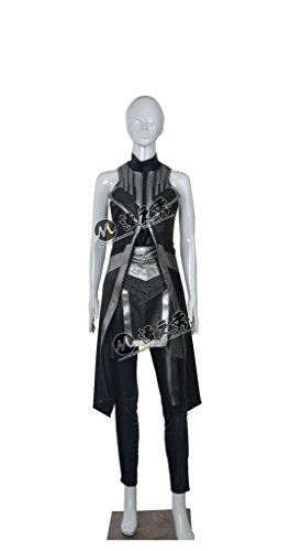 Xmen Storm Costumes (Mtxc Women's X-Men: Apocalypse Cosplay Costume Storm Full Set Size X-large Black)