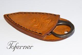 Original Gift, Celtic Pocket Knife, Celtic Folding Knife, Celtic Folding Blade, Hand-forged, High Quality.