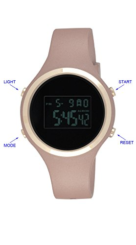 moulin-womens-pastel-color-digital-jelly-watch-dark-screen-metallic-pink-03158-77175