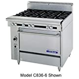 Garland US Range C836-6 Cuisine Series Heavy Duty Range