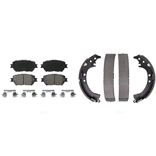 For 2015-2016 Lincoln MKS Front and Rear R1 OE Optimum Series Brake Pads