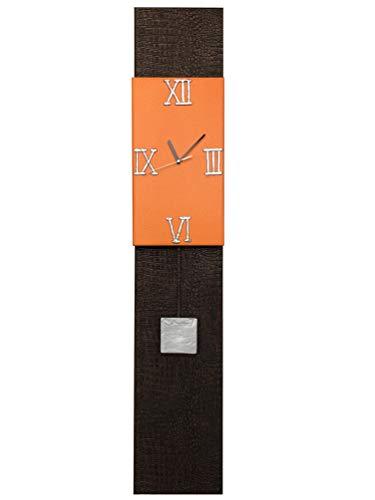 Reloj de Pared grande, Diseño Moderno. Péndulo moldeado a mano. Fabricación Artesanal en España. Decora tu hogar con relojes de pared exclusivos, regalo original.: Amazon.es: Handmade