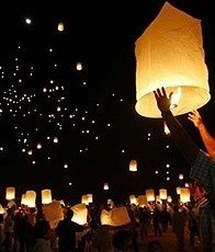 SKY LANTERNS 10 Pack – Assorted Colors, Outdoor Stuffs