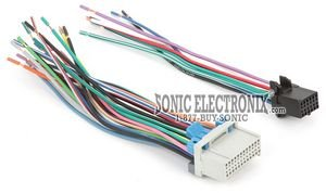 05 tahoe stereo wire harness - 1