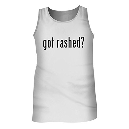 Tracy Gifts Got rashed? - Men's Adult Tank Top, White, Large