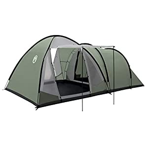 Coleman Waterfall 5 Deluxe family tent, 5 Man Tent with Separate Living and Sleeping Area, Easy to Pitch, 5 Person Tent…