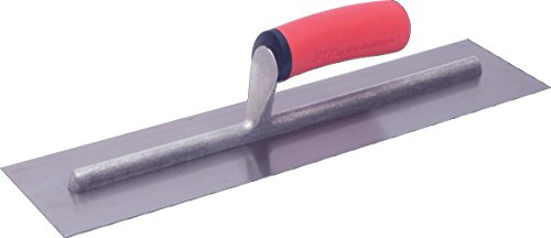 (Marshalltown FT144 14 x 4-Inch Finishing Trowel with Soft Grip Handle)
