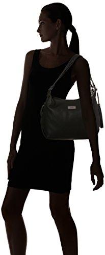 Negro Mujer ara cartera Schwarz Sheffield Bronce E88PqFtw