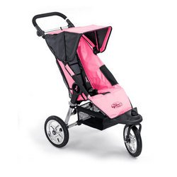 Amazon.com : Baby Jogger City Series Pink Limited Edition Stroller ...