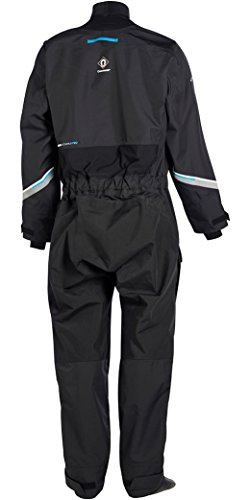 Crewsaver Kids Youth Junior Atacama Pro Drysuit Dry Suit Including Undersuit Black. Waterproof & Breathable - Easy Stretch
