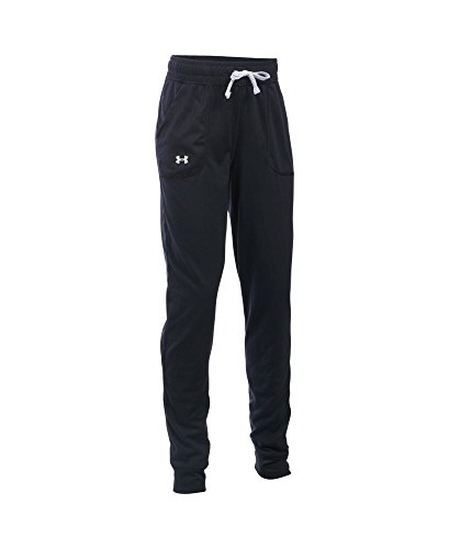 Under Armour Girls' Graphic Tech Jogger, Black (001), Youth X-Small