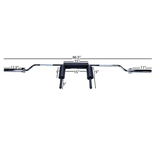 Titan Fitness Safety Squat Olympic Bar by Titan Fitness (Image #1)
