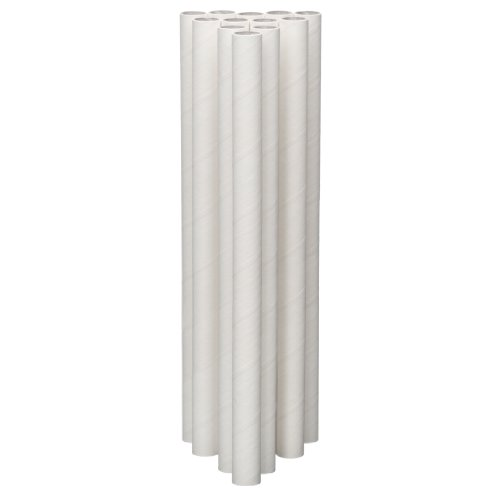 Lady Mary/Ateco 12-Inch Parchment Coated Paperboard Dowels, 12-Pack