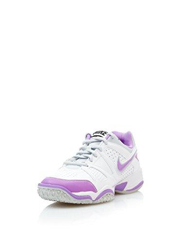 Nike Zapatillas Wmns City Court VII Omni Blanco / Morado EU 39 (US 8)