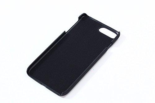 para iPhone 7 Plus Caja del Teléfono del Sensor Térmico, para iPhone 8 Plus Calor Inducción Cambio de color de la Cubierta, Vandot Ultrafino a prueba de choque PC Duro Sensible al Calor Protector de l Discolor Black