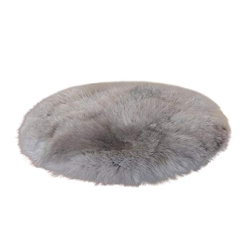 Price comparison product image Sheepskin Rug, Lovewe Soft Artificial Sheepskin Rug, Chair Cover, Artificial Wool Warm Hairy Carpet Seat Pad (Gray)