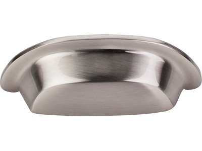Top Knobs Aspen II Collection 3'' CC Cup Pull -M2002- Brushed Satin Nickel