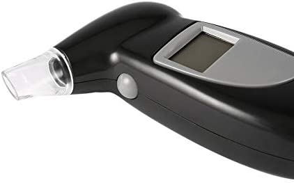 Garciasia Respirador Digital Alcohol/ímetro Probador de alcohol/ímetro Boquillas de soplado para Llavero Probador de Alcohol Color: Transparente TH6491