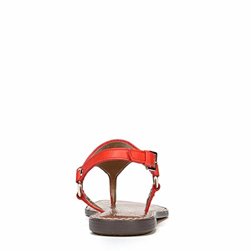 Neymar Havana Femme Bride Sandales Sam Tumbled Leather Edelman Arrière Greta Red gwT8A