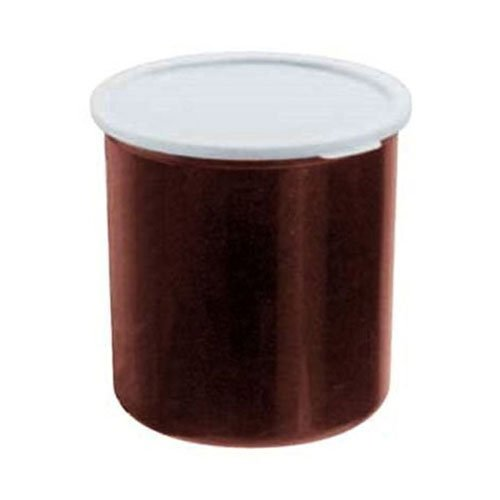 (Cambro CP27195 Crock w/ Lid, Reddish Brown, 2.7 qt., Case of 6 )