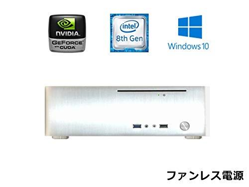 一番の 【スリム ゲーミングPC】【第8世代Core搭載】 DVD Windows10PRO【M.2 PCI接続 SSD搭載 静音】【ファンレス電源搭載】 SlimPc TM130G Pentium グラボ搭載 M.2 SSD 240GB メモリ16GB DVD Windows10PRO Office シルバー 静音 1年保証 パソコンショップaba B07N5CBZTF, 靴紐手芸紐の marui:ef77fd6e --- arianechie.dominiotemporario.com