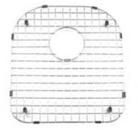(Noah's Single D-Bowl Undermount Sink Grid by Whitehaus Collection )