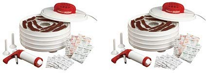 Nesco FD-28JX Jerky Xpress Dehydrator Kit with Jerky Gun - M