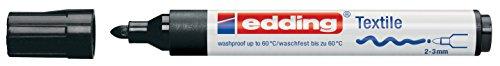 edding Textilmarker edding 4500 creative, Rundspitze, 2-3 mm, schwarz