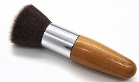 Kabuki Foundation Makeup Brush - Bamboo Handle Travel Makeup Applicator