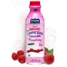 Lifeway, Kefir Raspberry Low-Fat Organic, 32 Ounce