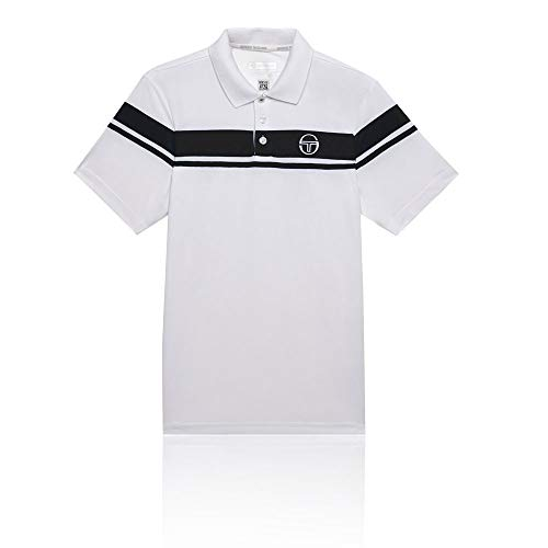 (Sergio Tacchini Young Line Pro Polo - SS19 - XX Large - Navy Blue)