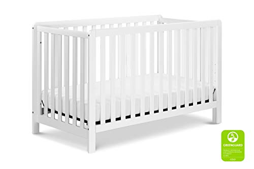 Carter's by DaVinci Colby 4-in-1 Low-Profile Convertible Crib in White | Greenguard Gold Certified